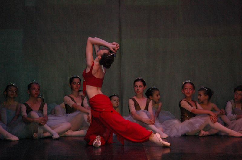 Ecole de ballet - Bayadere  (150)