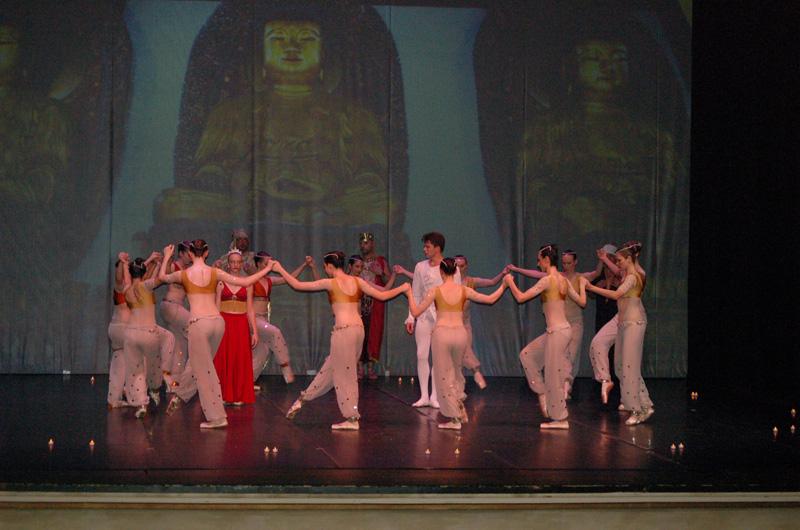 Ecole de ballet - Bayadere  (189)