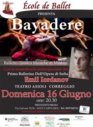 Bayadere - coreografia di Emma koyceva