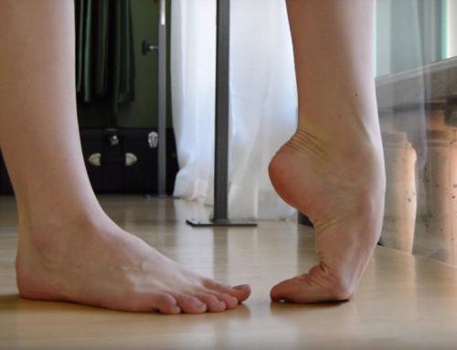 Esercizi per i piedi dei ballerini